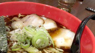 富山ブラックらーめん:麺家いろは