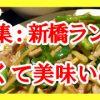 【特集:新橋ランチ】安く美味い8選